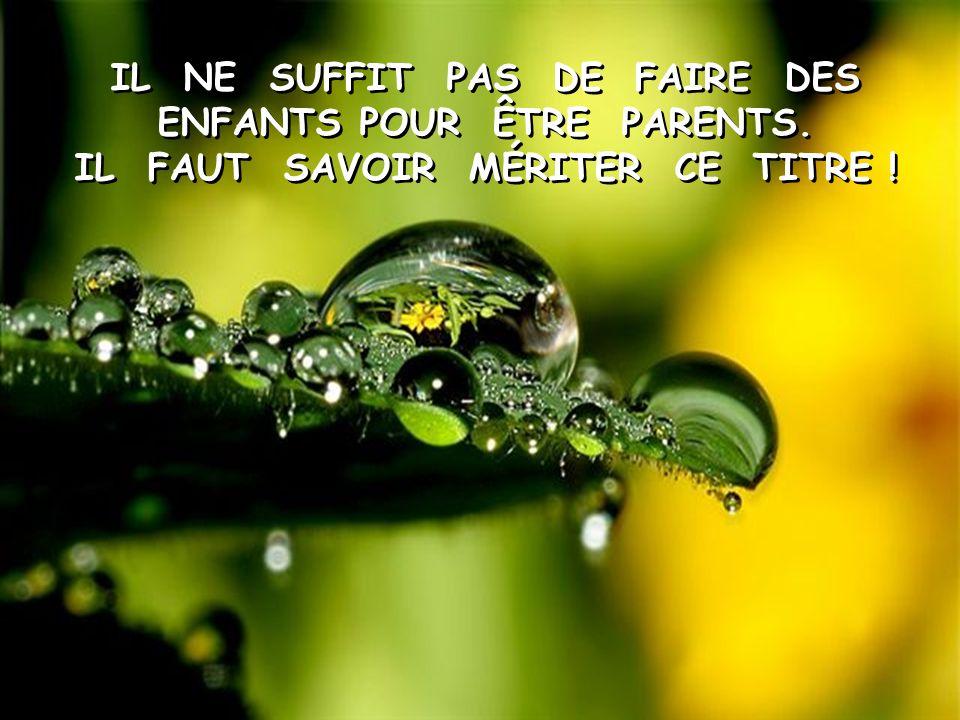 ÉVOLUER DANS LA VIE SANS PARENTS, C'EST COMME PARCOURIR UN PAYS INCONNU, SANS CARTE ROUTIÈRE.