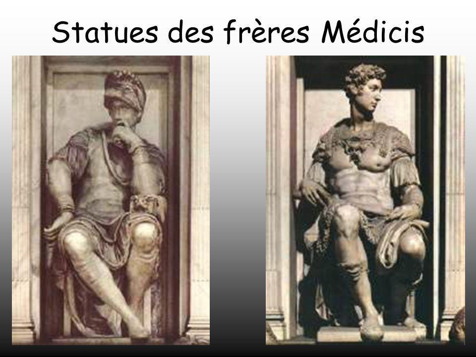Il revint à Michel - Ange la tâche de construire les tombeaux des Médicis.