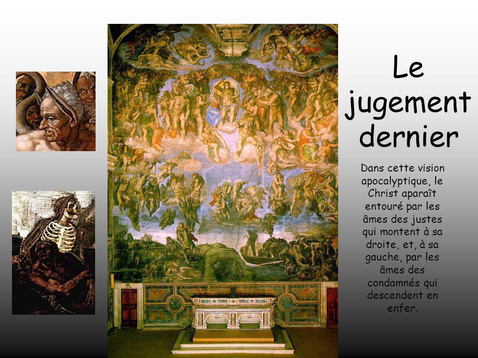 Le Pape Paul III Farnese lui demanda de peindre une fresque du Jugement Dernier, que serait la peinture la plus grande du monde à cette époque.