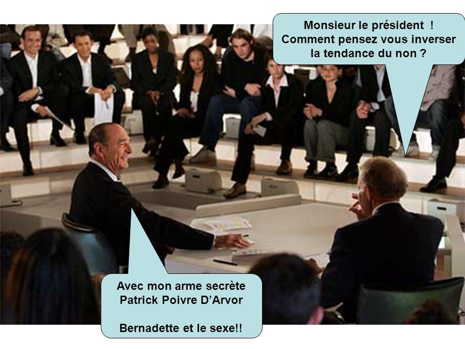 Dit Paola t'a pas une idée de comment je peux aider Jacques ! Le sexe, l'érotisme, il n'y a que cela qui recueille de l'audience !!