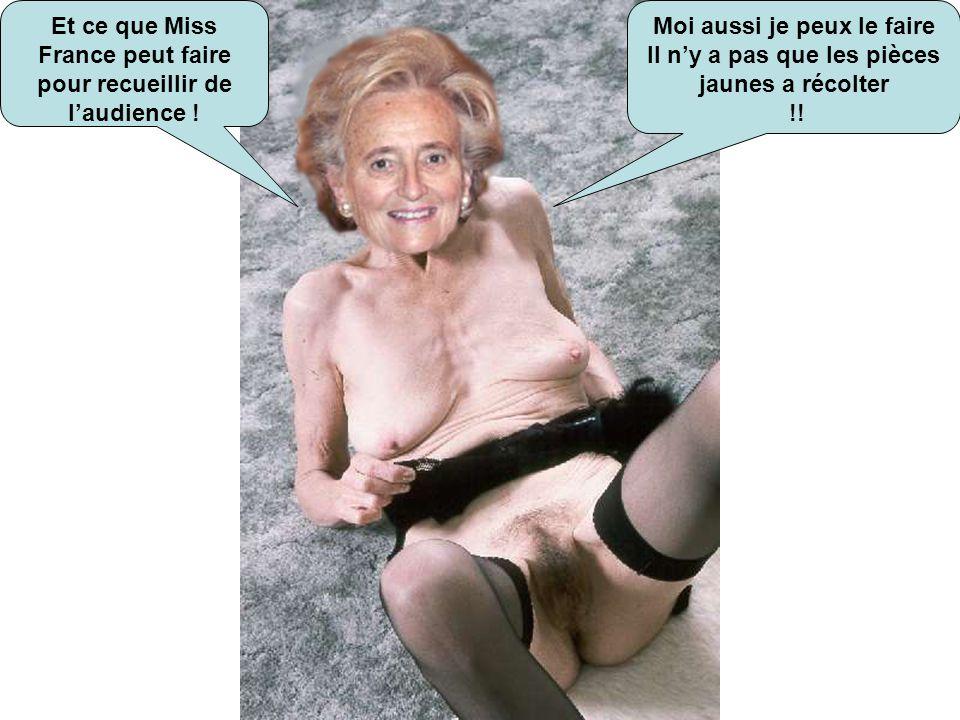 Je ne suis pas Miss France 2004 ! Mais actuellement et depuis 10 ans je suis la 1 ère dame de France !!