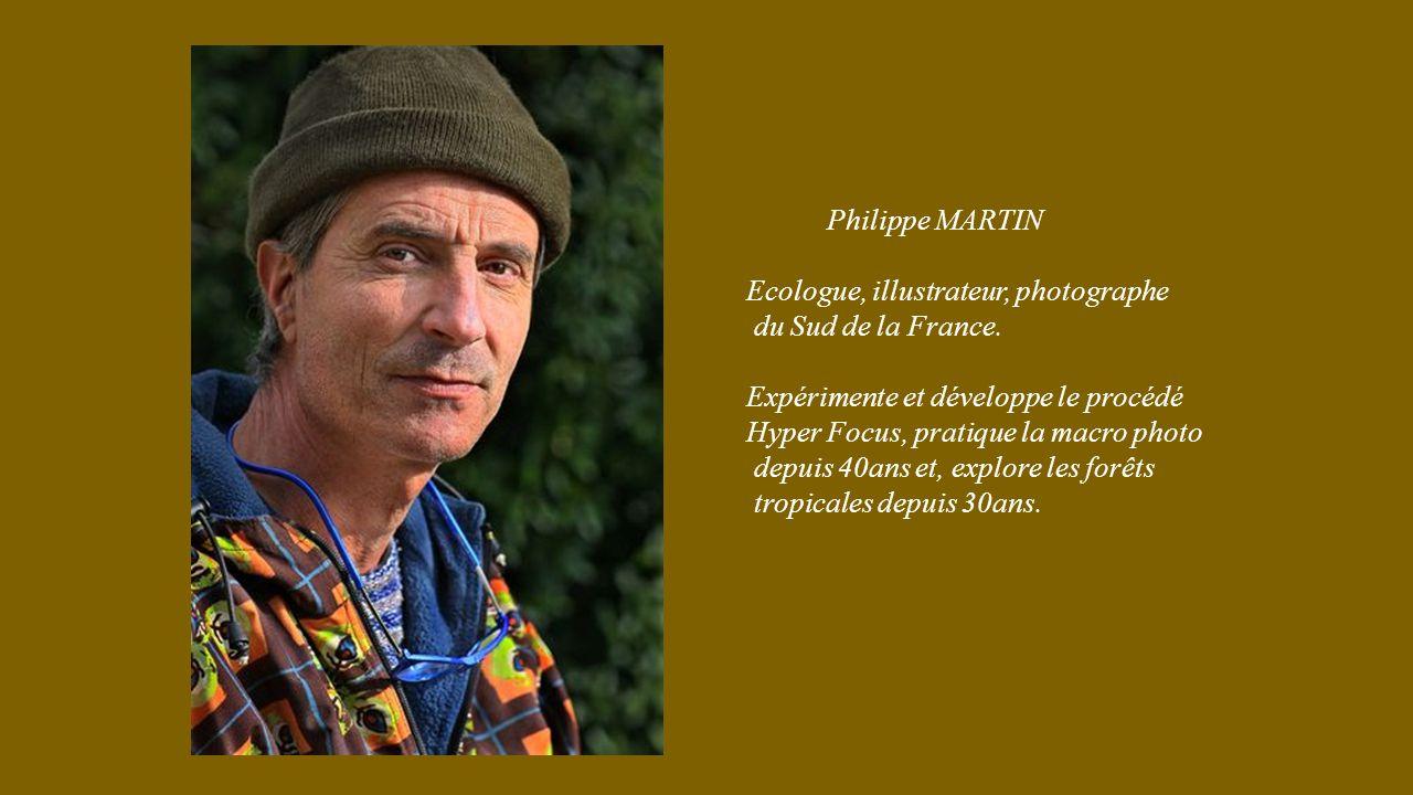 Philippe MARTIN Ecologue, illustrateur, photographe du Sud de la France.