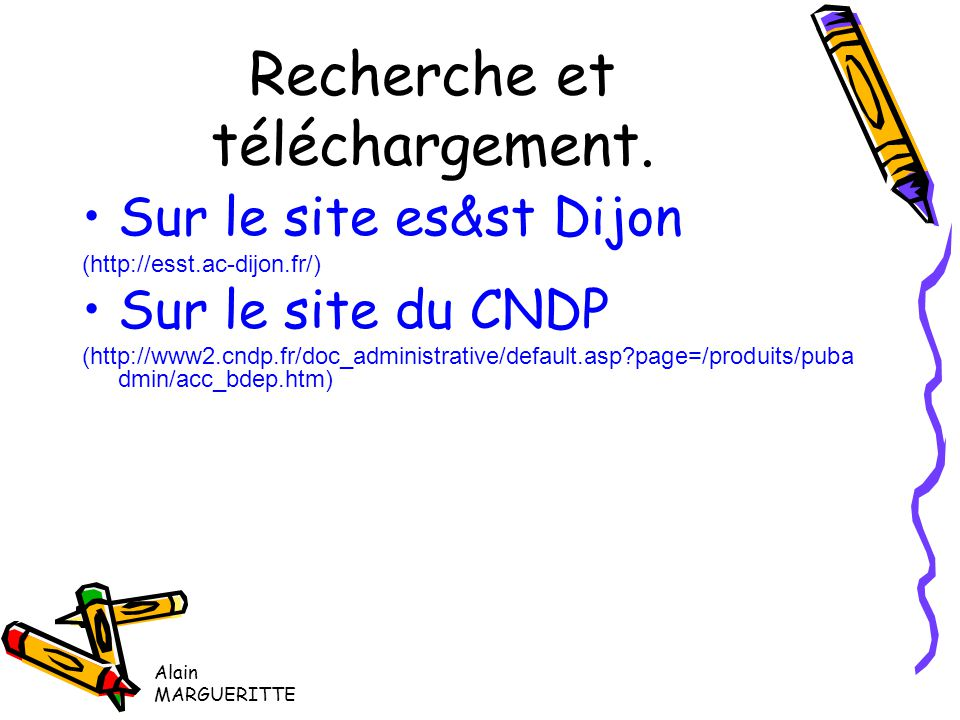 Alain MARGUERITTE ES&ST Dijon