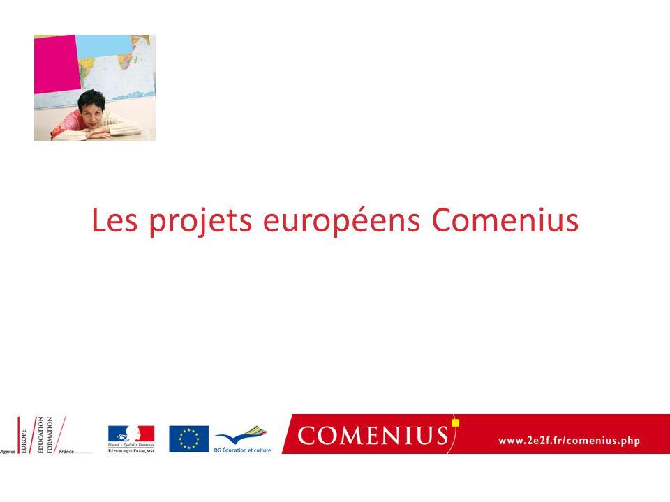 Les projets européens Comenius