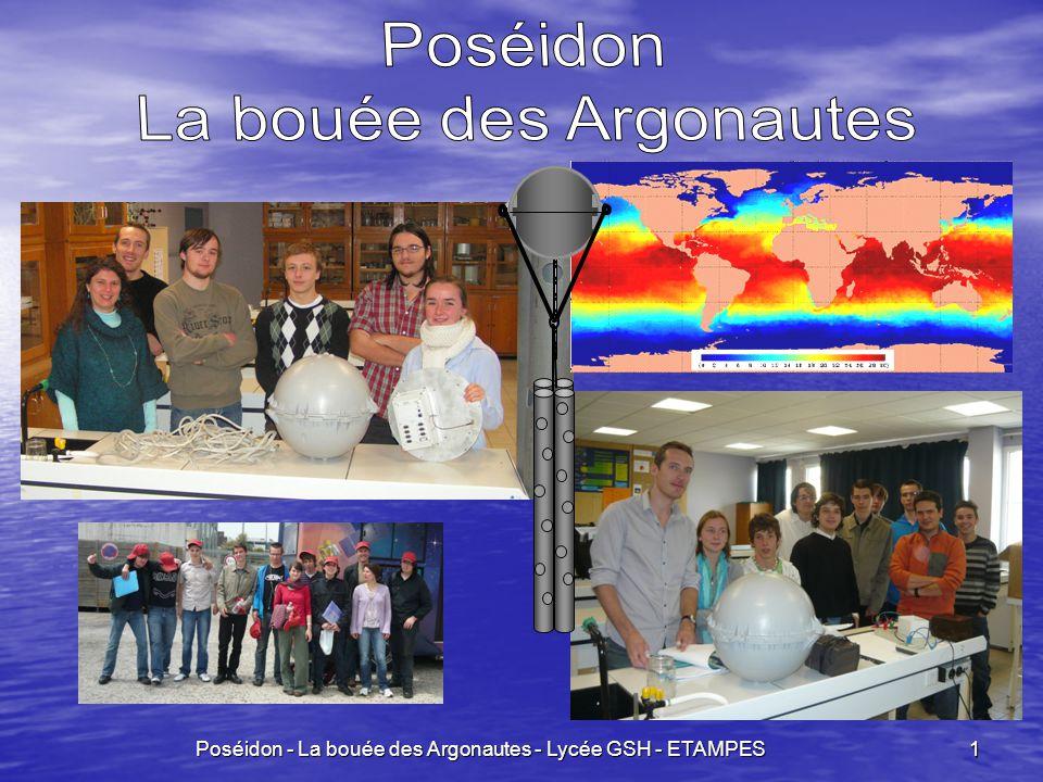 Poséidon - La bouée des Argonautes - Lycée GSH - ETAMPES 22