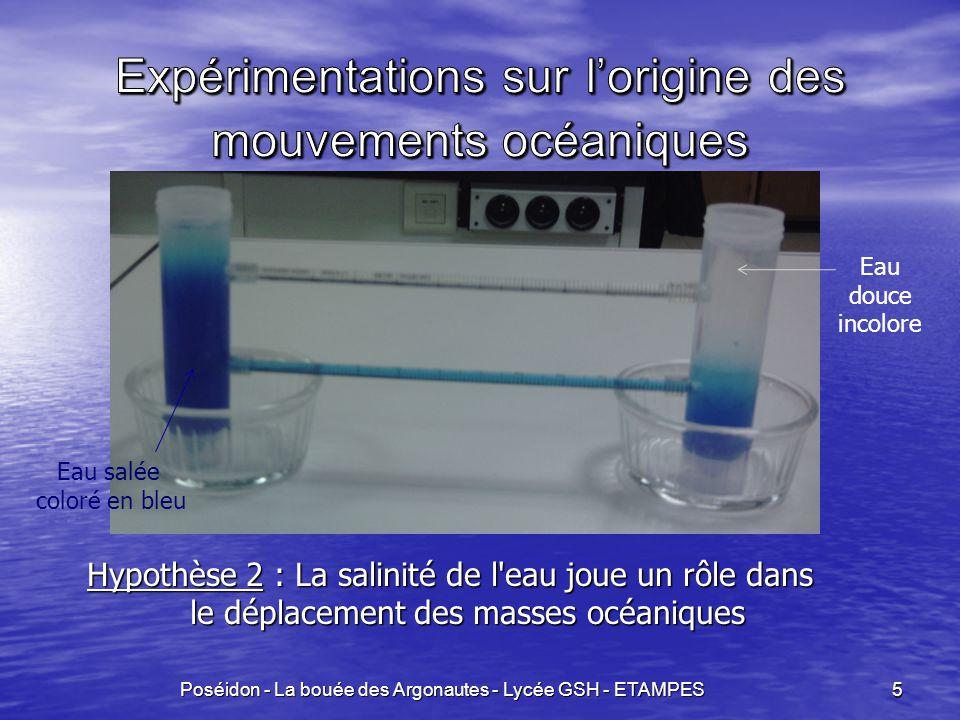 Poséidon - La bouée des Argonautes - Lycée GSH - ETAMPES 16
