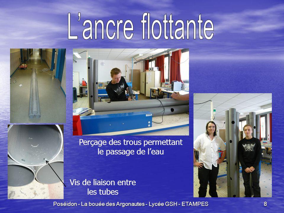 Poséidon - La bouée des Argonautes - Lycée GSH - ETAMPES 9