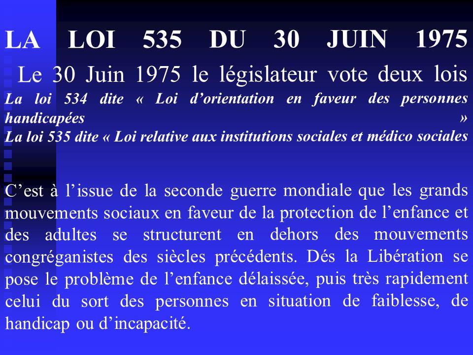 1°PARTIE LE DECRET DES ANNEXES XXIV 27 Octobre 1989  Il s'agit de la réforme d'un décret initial du 9 mars 1956 qui comportait 24 annexes  Ce décret prévoyait pour la première fois en France les conditions techniques de fonctionnement et d'autorisation des établissements dits « de cure et de prévention ».