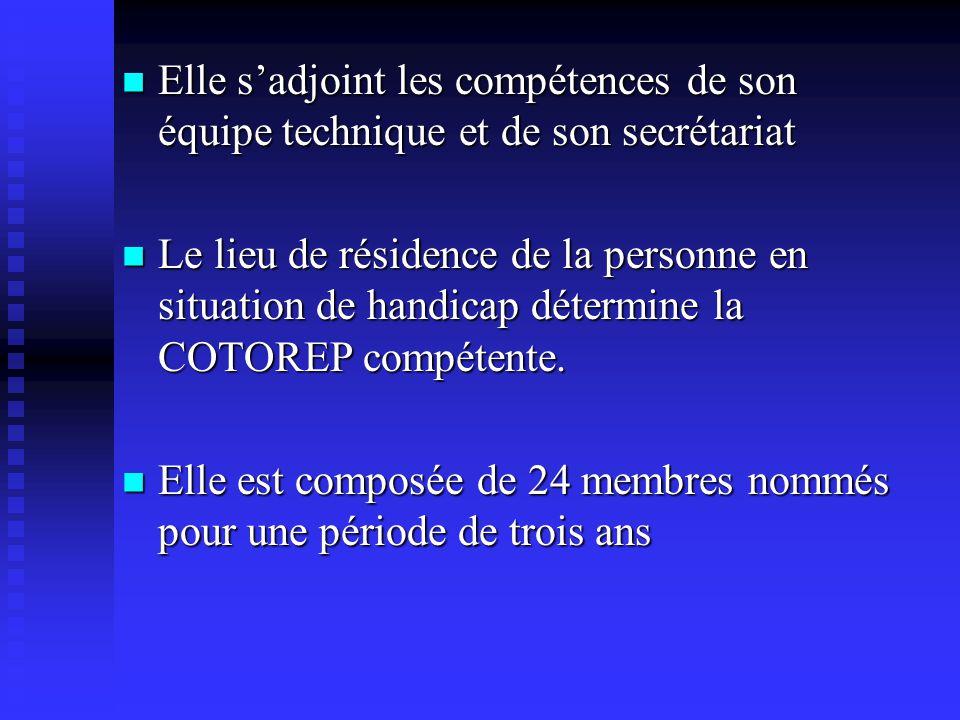 LA COTOREP  Elle trouve son origine dans l'art 14  Crée dans chaque département elle :  S'adresse aux adultes à partir de 20 ans (ou de 16 ans en c