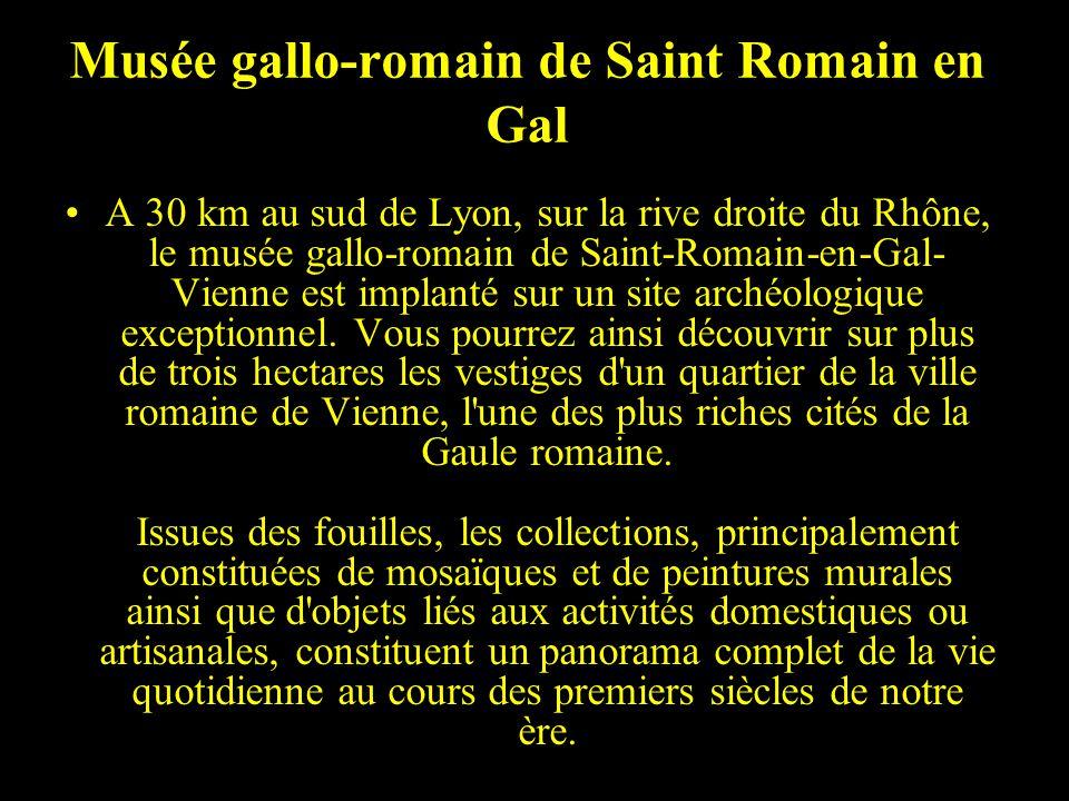 St romain en gal le musée volet 1