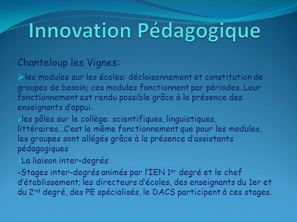  projet inter-degrés: -1 projet conte: des classes de CM2, de 6 ème du collège général et 6 ème SEGPA participent à ce projet.