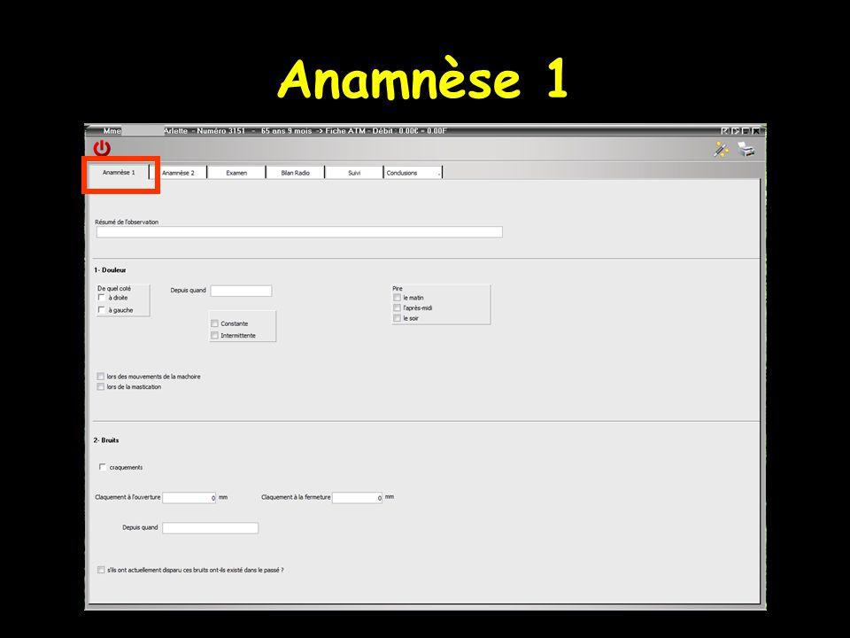 Anamnèse 1