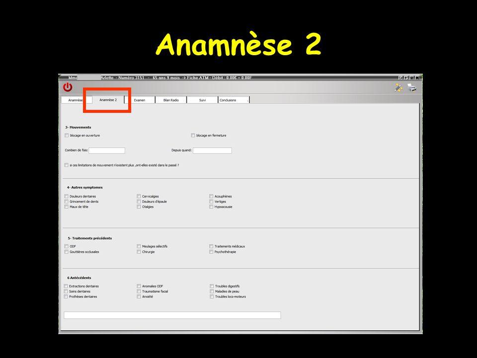 Anamnèse 2