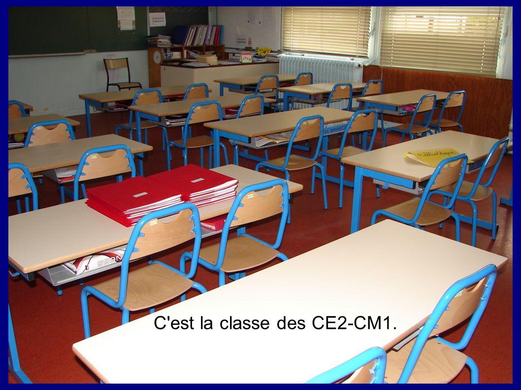 C'est la classe des CE2-CM1.