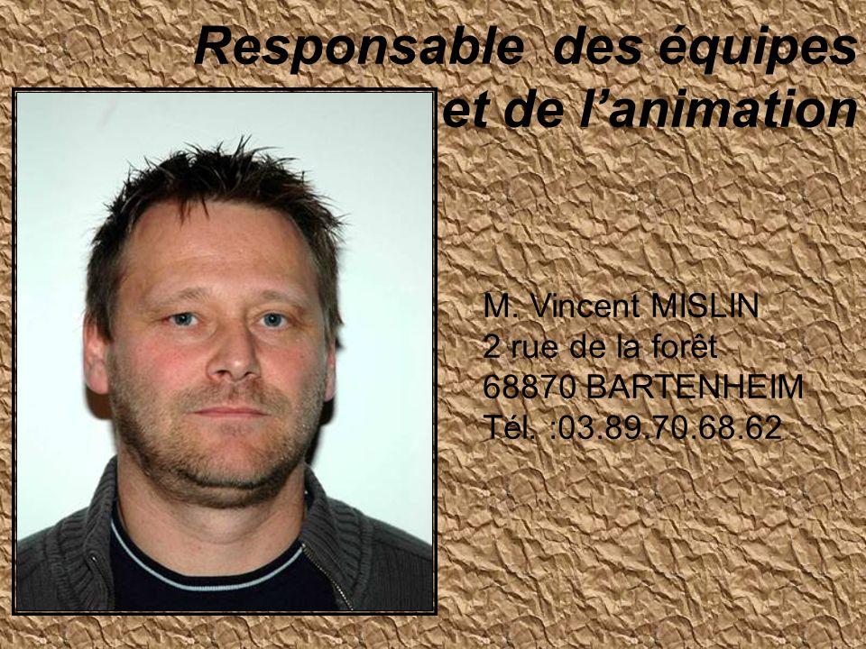 M.Jean-Paul SCHIRLIN 2, rue des Pêcheurs 68460 LUTTERBACH Tél.