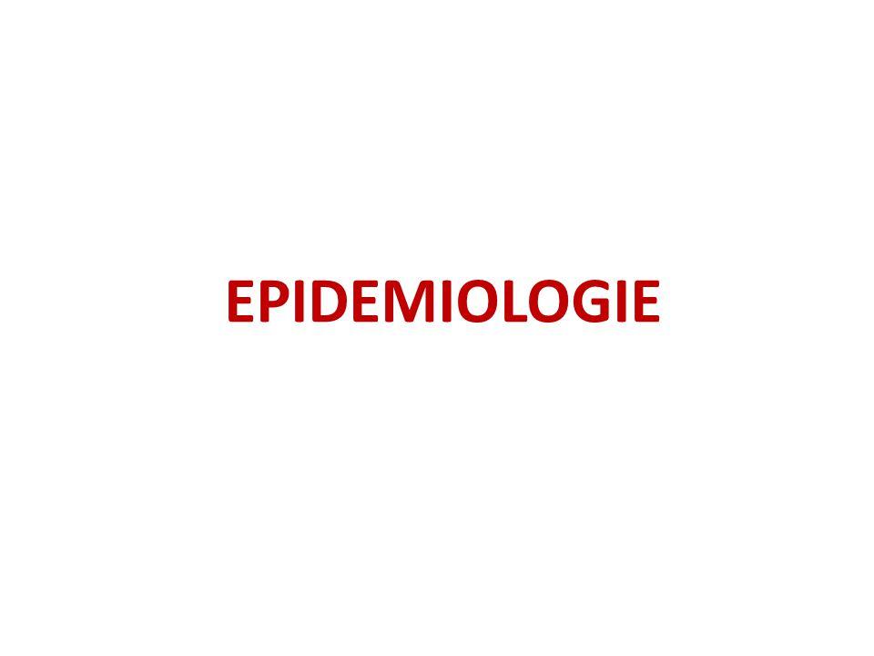 EPIDEMIOLOGIE