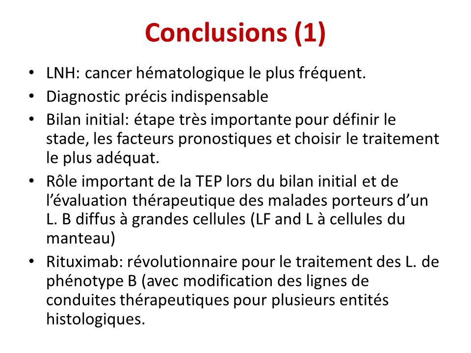 • LNH: cancer hématologique le plus fréquent. • Diagnostic précis indispensable • Bilan initial: étape très importante pour définir le stade, les fact