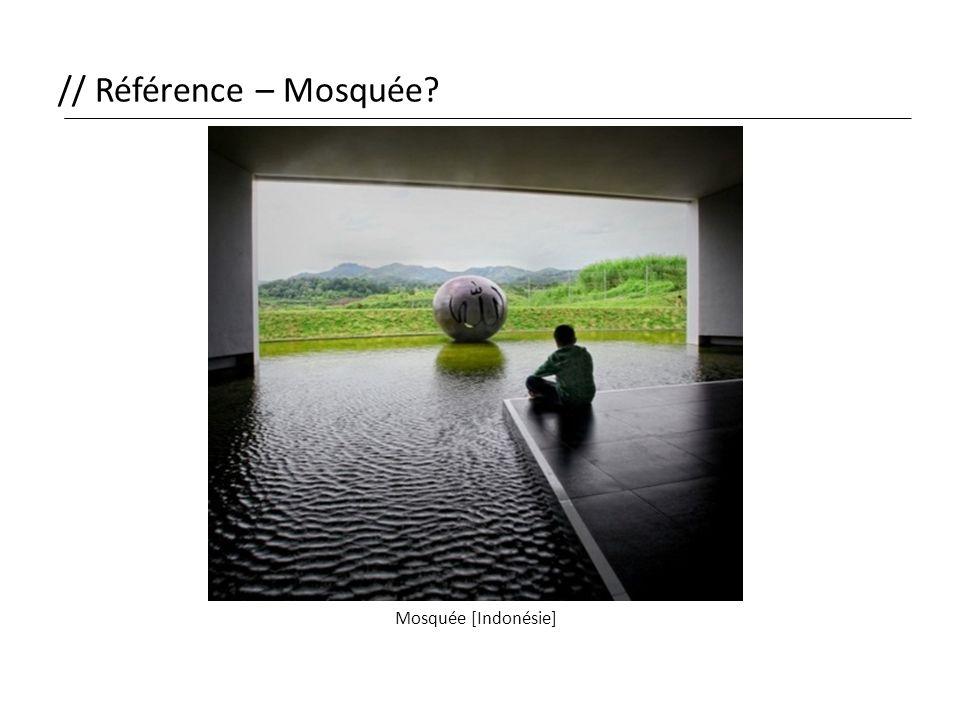 // Référence – Mosquée? Mosquée [Indonésie]