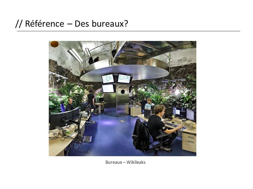 // Référence – Des bureaux? Bureaux – Wikileaks