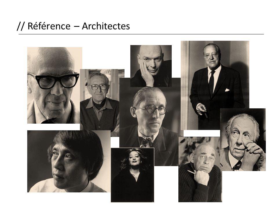 // Référence – Architectes