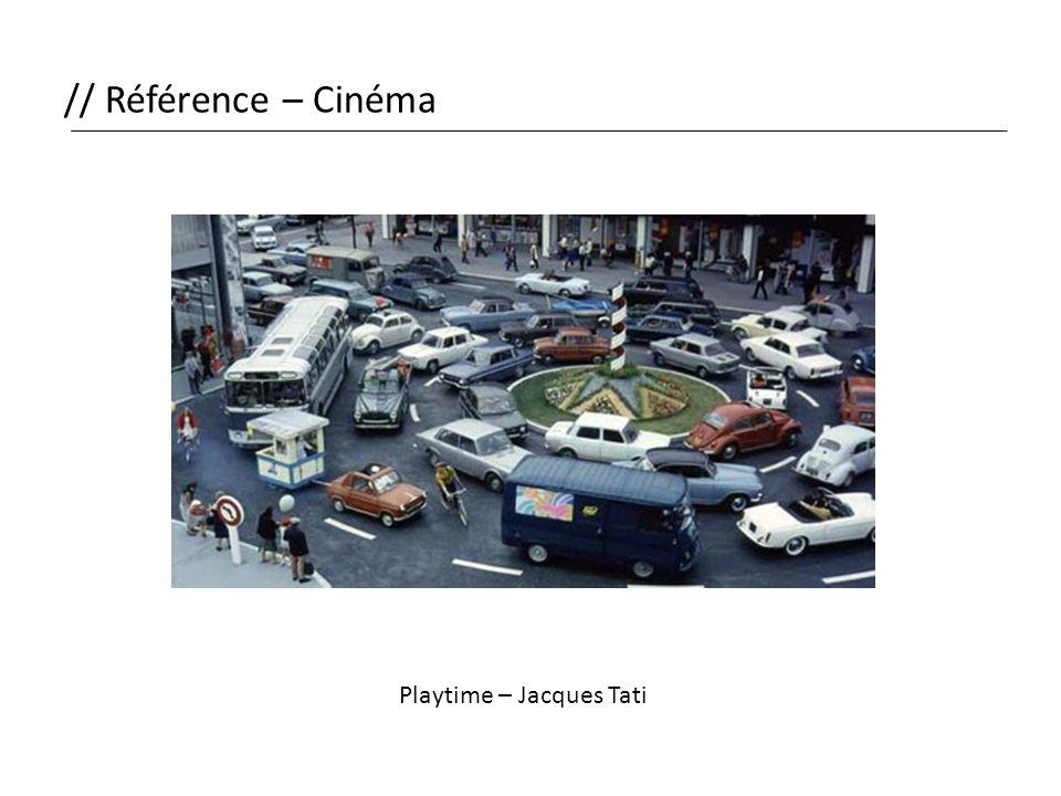 // Référence – Cinéma Playtime – Jacques Tati