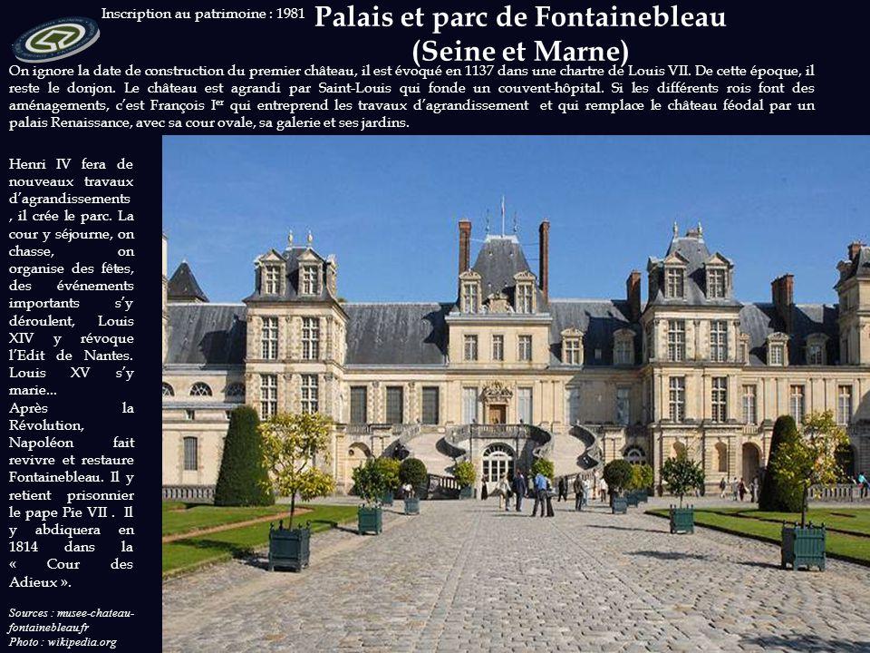 Inscription au patrimoine : 1981 Sources : cathedrale-amiens.images-en-somme.fr Photos: wikipedia.org Notre-Dame d'Amiens est la plus grande cathédral