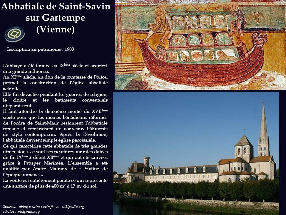 Inscription au patrimoine : saline royale : 1982 ; grande saline : 2009 Sources : ot-arcetsenans.fr ; salineroyale.com et wikipedia.org Photos : ot-ar