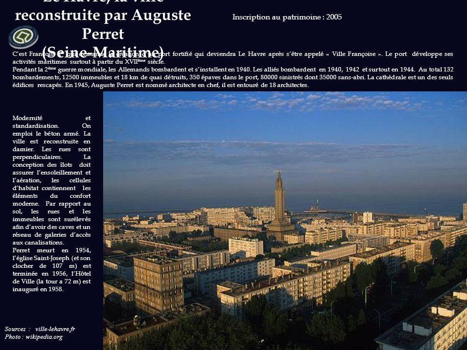 Sources : provins.net Photos : wikipedia.org Inscription au patrimoine : 2001 De part sa situation géographique, Provins est une ville connue dès l'ép