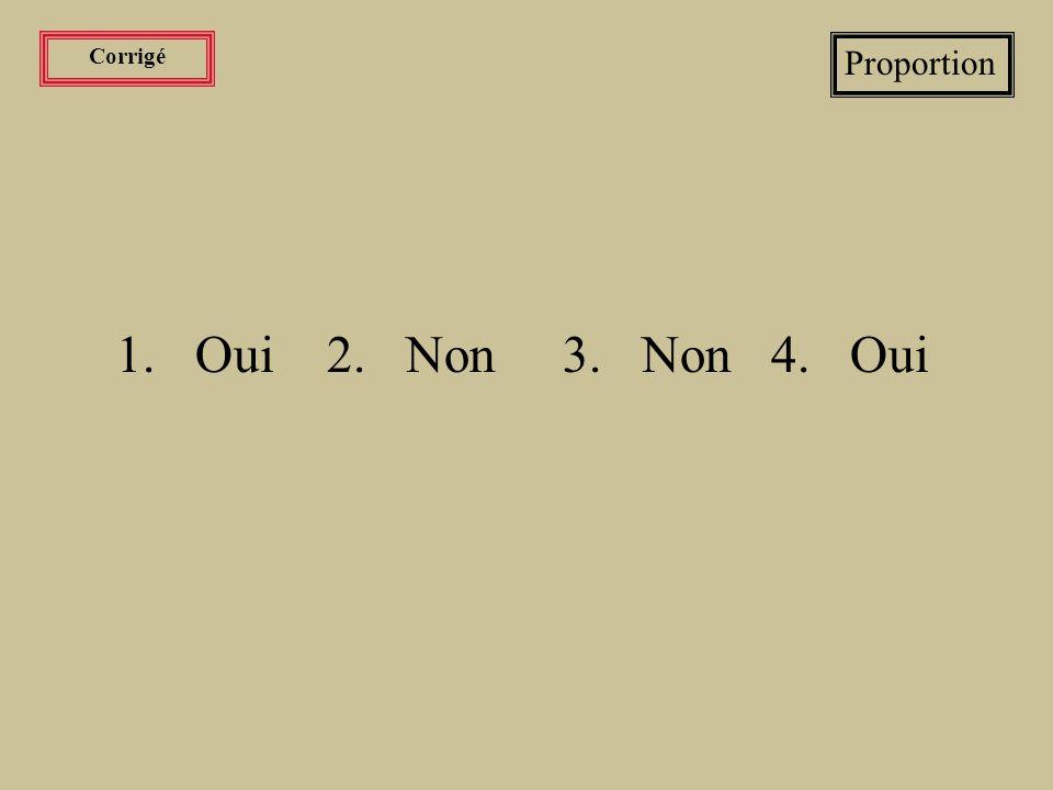 Exercices Proportion Vérifier avec la loi des proportions si les fractions sont équivalentes.