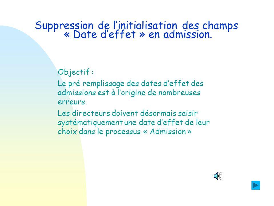 Saisie d'une adresse : affichage de la commune sélectionnée Le directeur sélectionne la commune de résidence de l'élève.