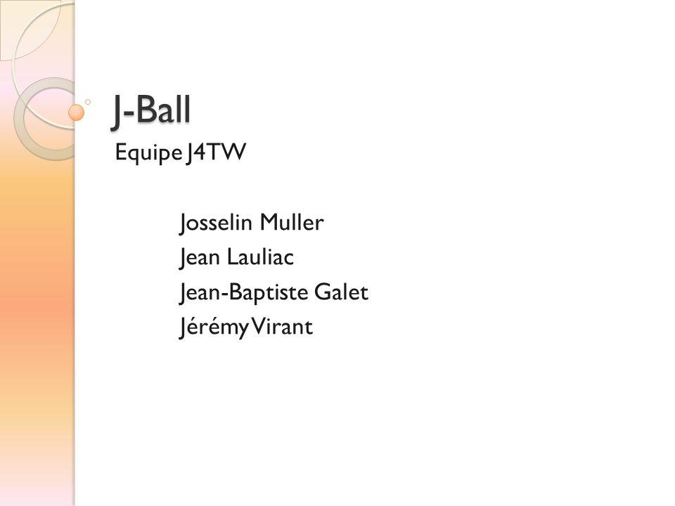 J-Ball Equipe J4TW Josselin Muller Jean Lauliac Jean-Baptiste Galet Jérémy Virant