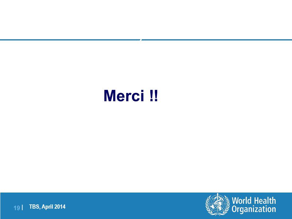 TBS, April 2014 19   Photo: Dr Charles Senessie, SwissmedIc Thank you to all Merci !!