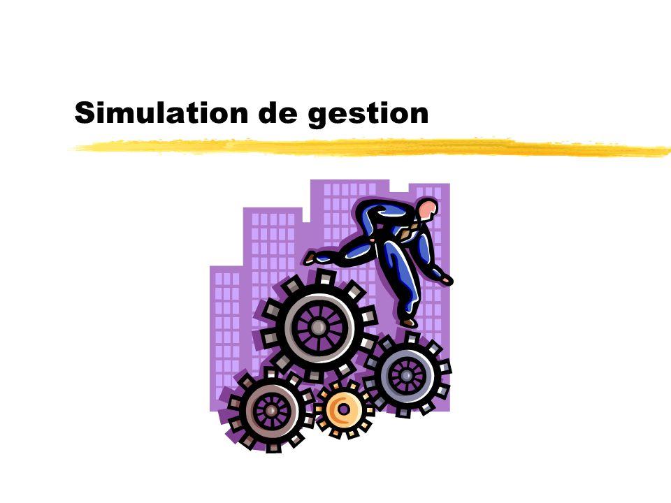 Simulation de gestion