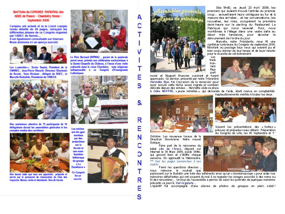 SAVOIE A R E C S Fondée en Mars 1994 Présidente en 2009 : Mme Marcelle RAZKALLAH Tél. 04 79 72 08 63 - Mél : mrazkallah@cegetel.netmrazkallah@cegetel.