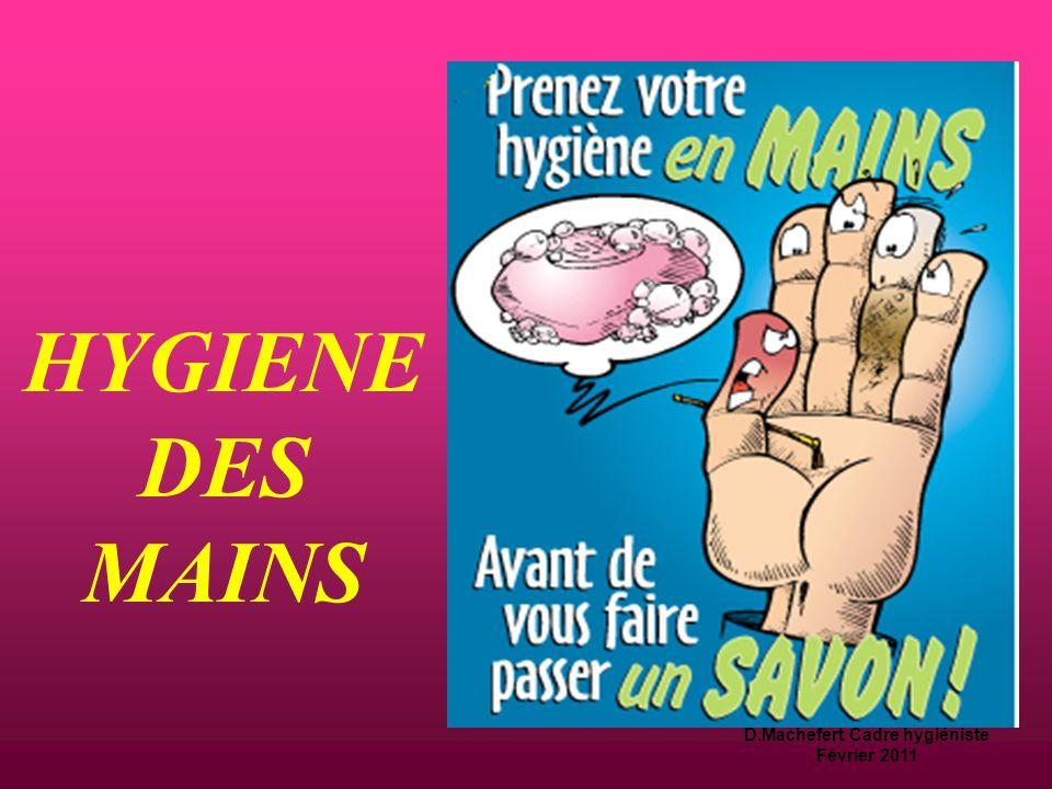 D.Machefert Cadre hygiéniste Février 2011 Tenue professionnelle  Blouse ou tunique + pantalon  Chaussures réservées au travail, silencieuses et faci