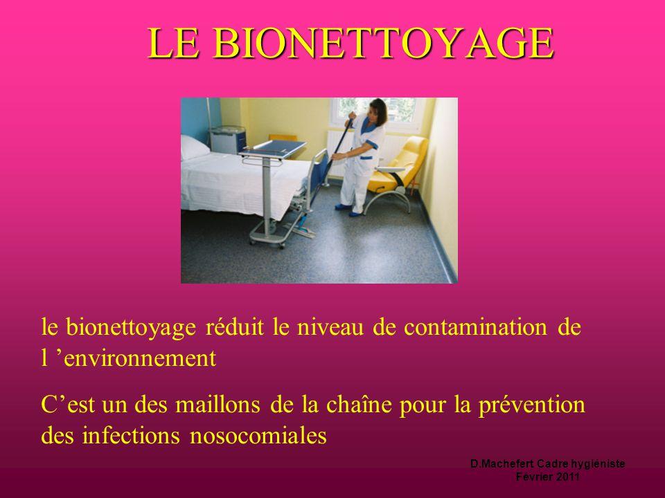 D.Machefert Cadre hygiéniste Février 2011 Notions d'hygiène de base règles aux matériels Les règles d 'hygiène passent par:  Le traitement des dispos