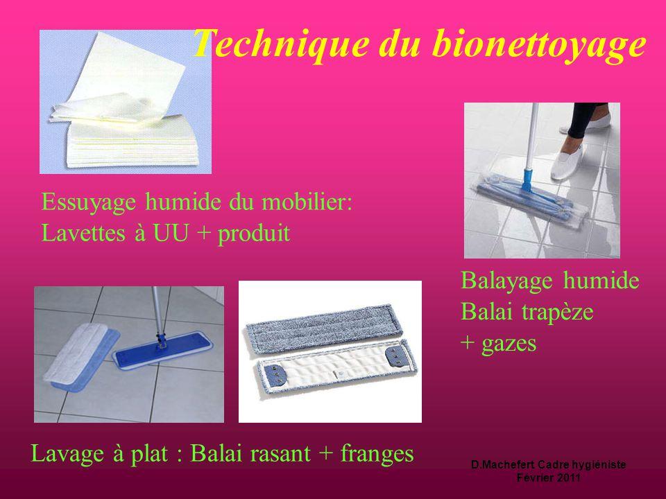 D.Machefert Cadre hygiéniste Février 2011 Où se trouvent les germes.