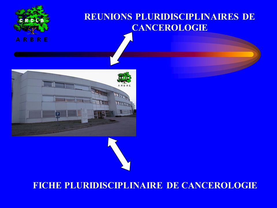 • STRATEGIE THERAPEUTIQUE COLLEGIALE • REFERENTIELS INTERNATIONAUX REUNIONS PLURIDISCIPLINAIRE DE CANCEROLOGIE