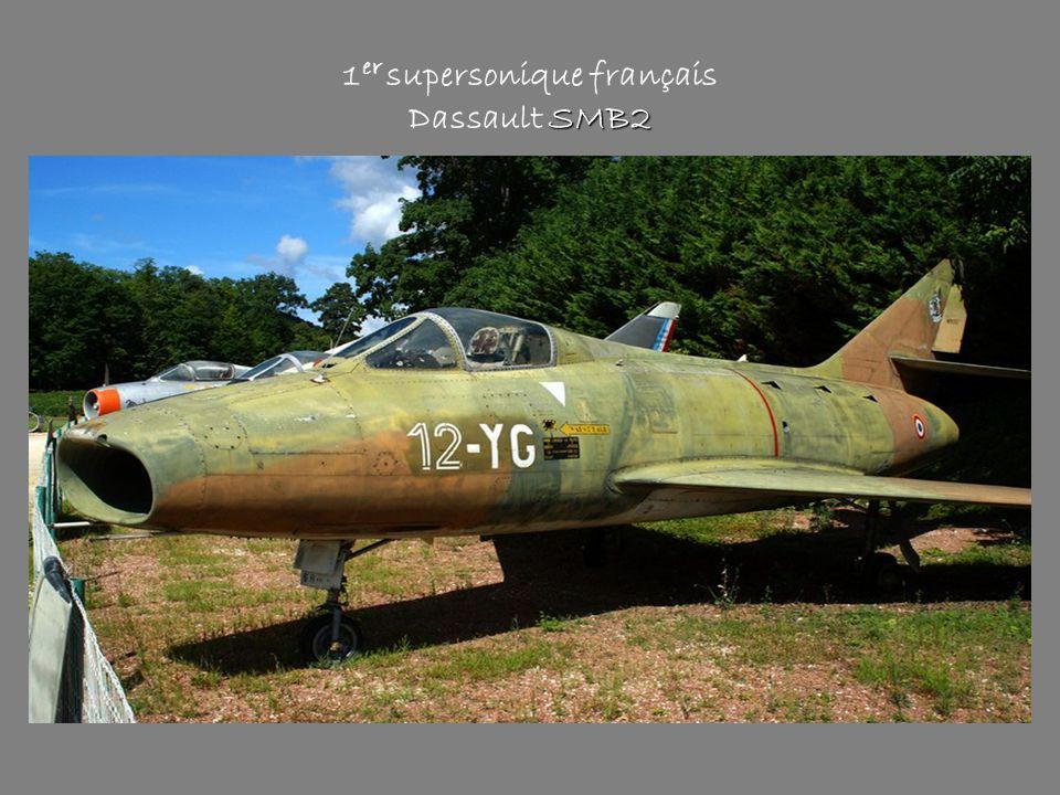 SMB2 1 er supersonique français Dassault SMB2
