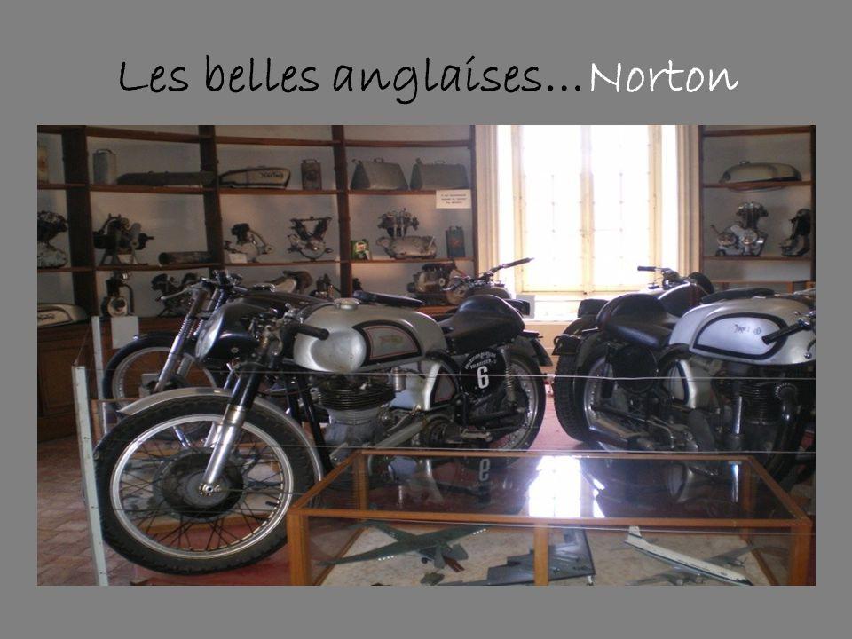 Les belles anglaises…Norton