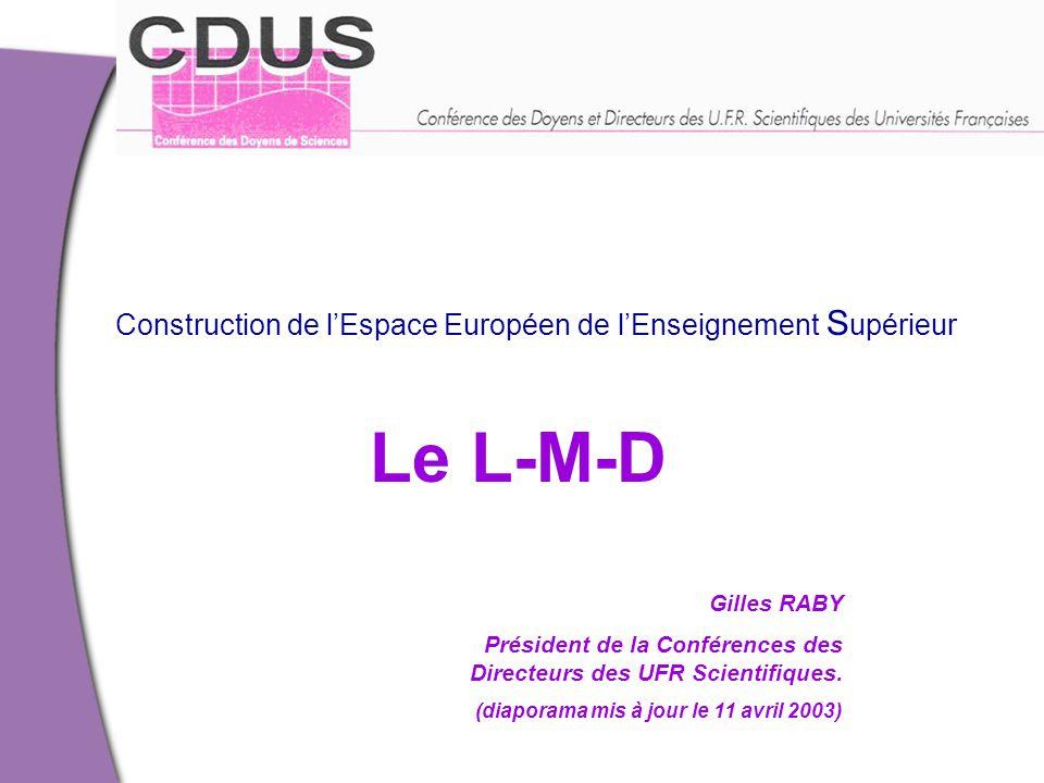 Les IUT et la licence: un constat  DUT: 1.