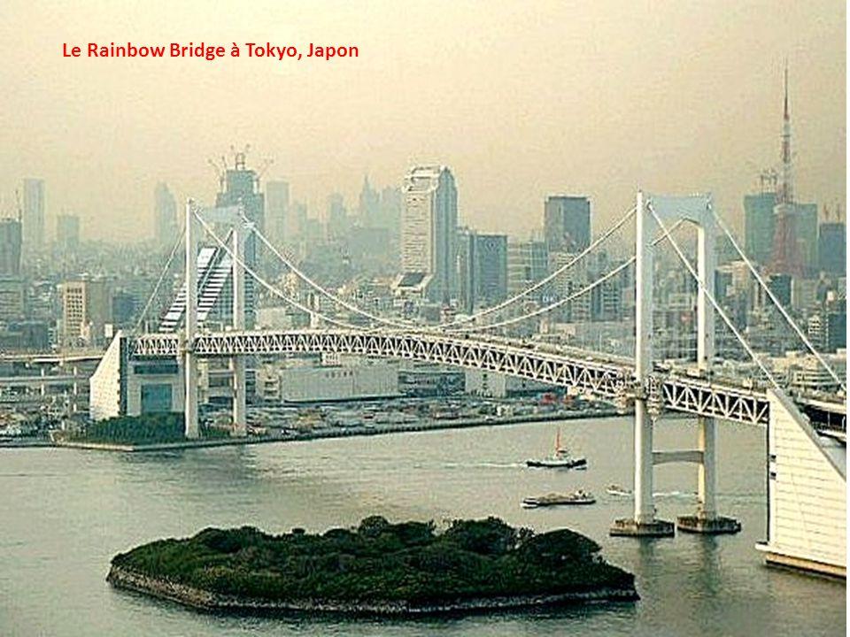 Le Rainbow Bridge à Tokyo, Japon