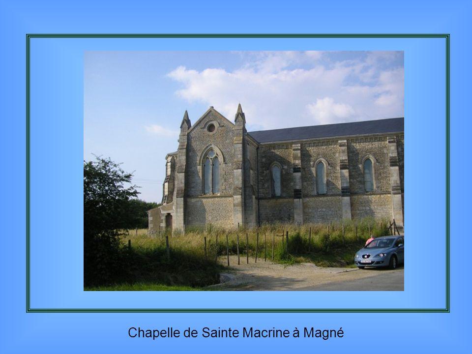 Ce qui reste du château de La Mothe Saint Héray