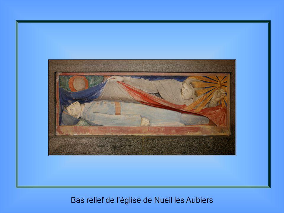 Sur un mur de l'église Saint Florent à Niort