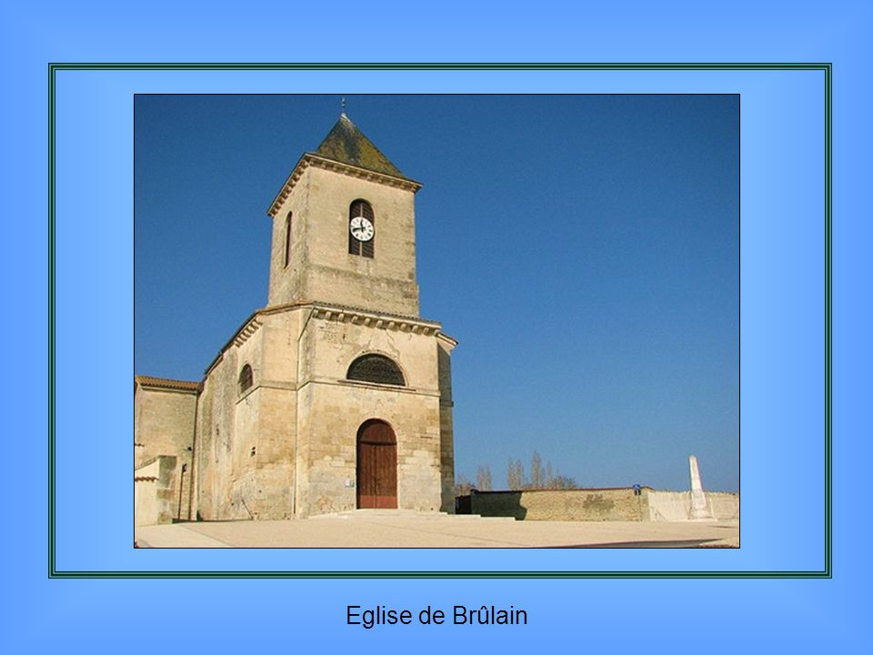 Bas relief de l'église de Nueil les Aubiers
