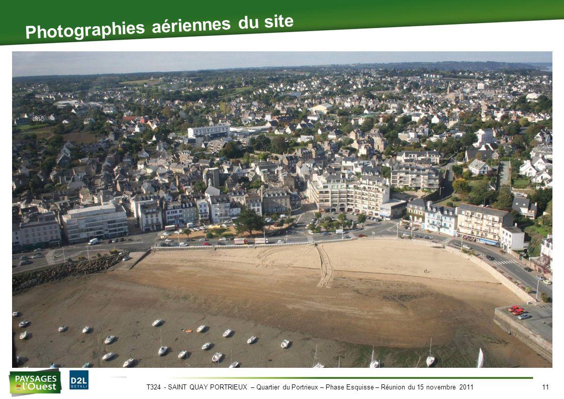 T324 - SAINT QUAY PORTRIEUX – Quartier du Portrieux – Phase Esquisse – Réunion du 15 novembre 201111 Photographies aériennes du site