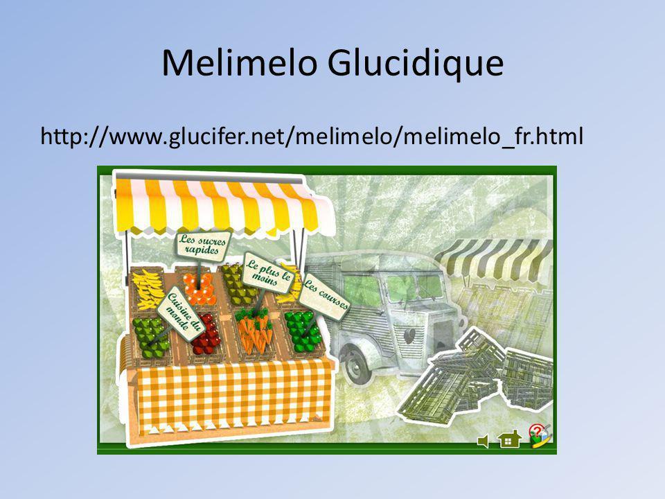 Melimelo Glucidique http://www.glucifer.net/melimelo/melimelo_fr.html
