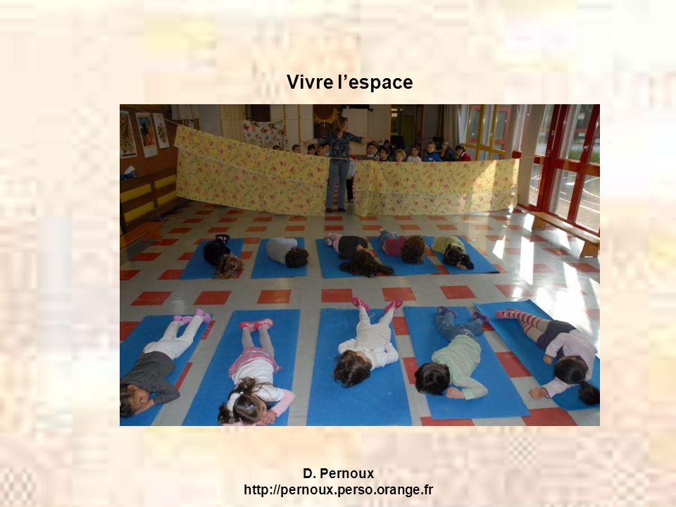 D. Pernoux http://pernoux.perso.orange.fr Vivre l'espace
