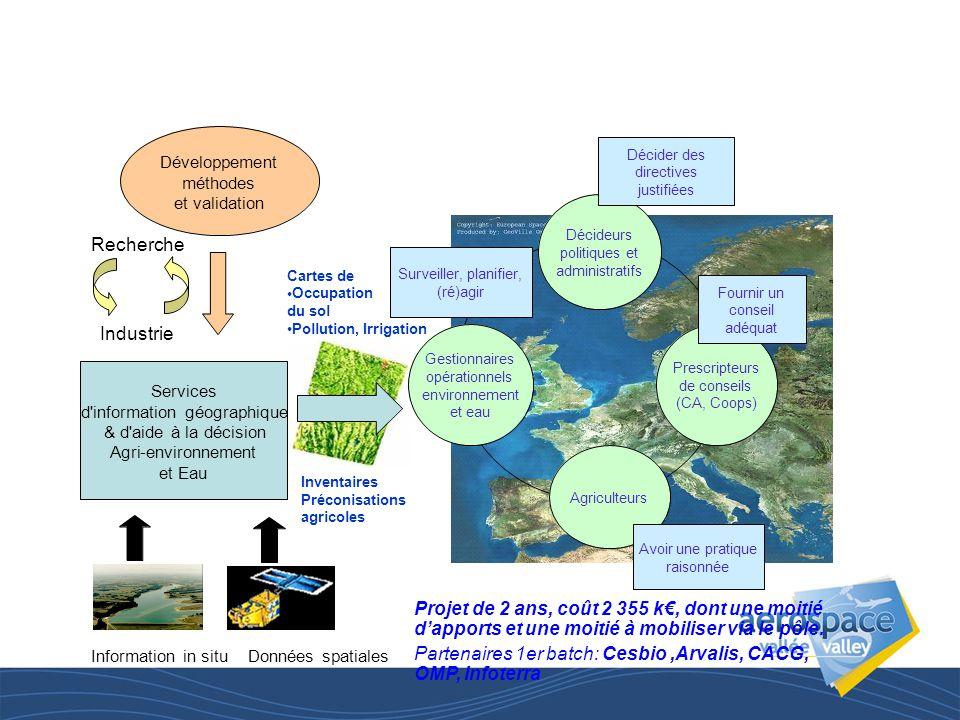 INFOAGRI: un Observatoire et une capacité opérationnelle de services en information géographique pour l'agriculture,l'agri-environnement et le suivi d