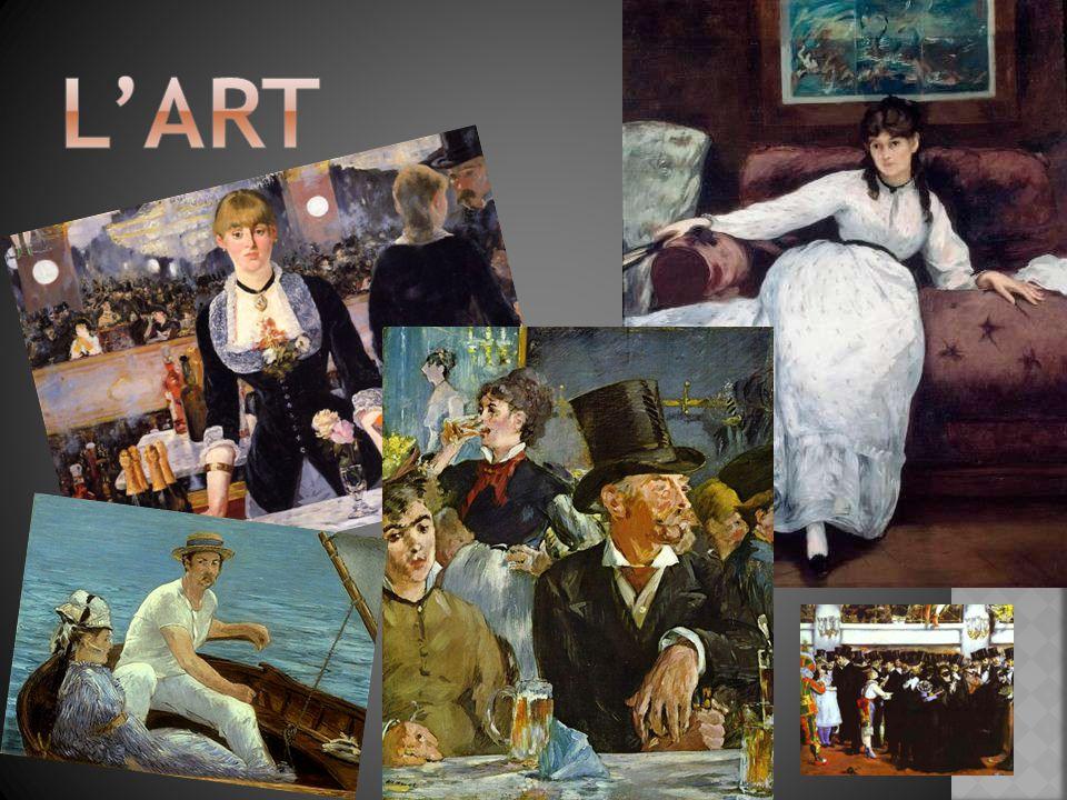  Né en 1832, mort en 1883  Une personne importante dans la transition de réalisme à l impressionnisme.